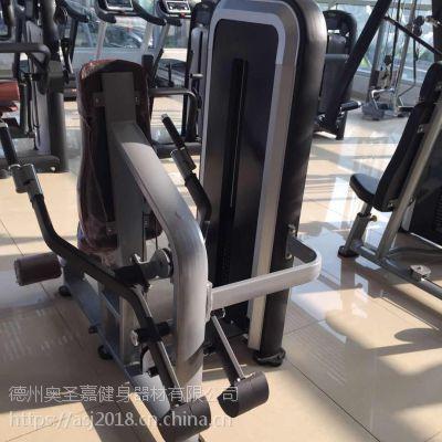 商用健身房工作室大型力量器械单功能二头下压训练器