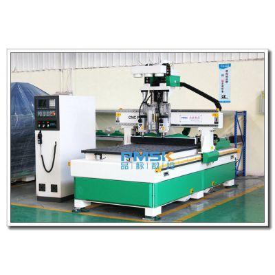 板式家具开料机厂家 品脉双工序加排钻木工生产线