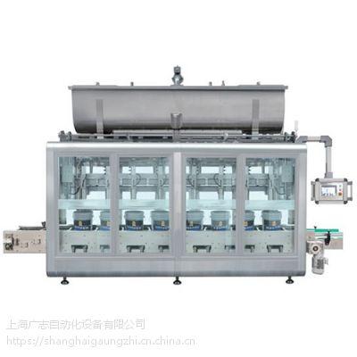 涂料油漆灌装机全自动上称重式灌装机上海广志自动化