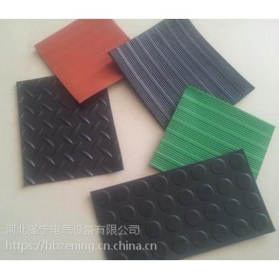 防滑橡胶板 柳叶 圆点 条纹 天然橡胶生产