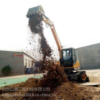 安徽蚌埠轮式挖掘机供应 轮胎式挖掘机厂家