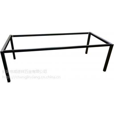 河南办公钢架厂家供应门字型会议桌办公桌班台2人位4人位钢架 量大从优