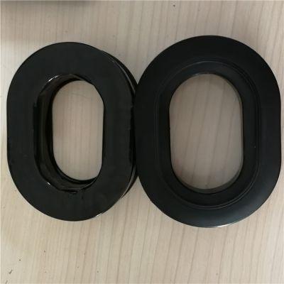 专业订做降噪TPU硅胶皮耳套 异形吸塑胶件硅胶惰性吸音海绵耳套