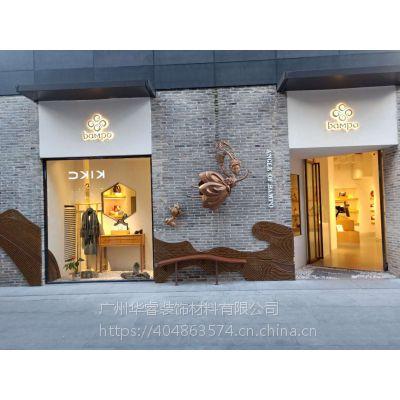 桂林西街金属艺术墙设计
