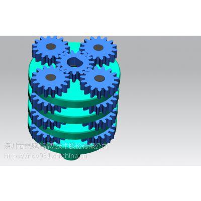 行星齿轮箱定制设计与制造