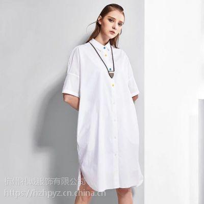 原创设计师品牌空序19夏装品牌女装折扣店一手货源批发加盟