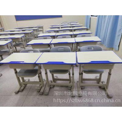 深圳北魏家具供应简约现代实木桌椅定做厂家直销