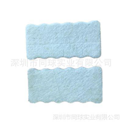 厂家现模生产eva复合毛毡布波浪边清洁擦子 不伤皮具除灰工具擦