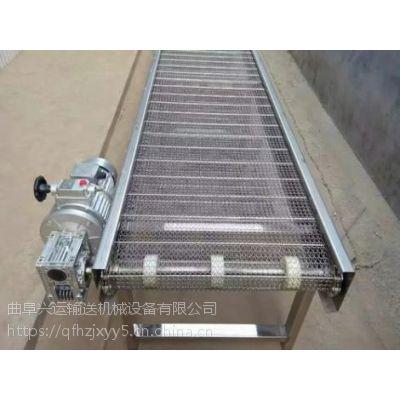 爬坡网带输送机各种规格 提升爬坡输送