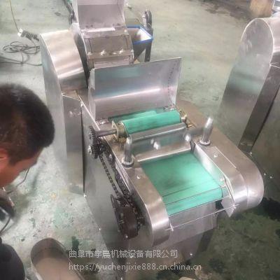 青辣椒切段机 宇晨油皮切丝机价格 加工厂用莲藕切片机厂家