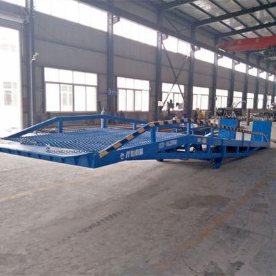 河北唐山厂家直销移动式升降卸货平台 12吨液压式升降调节板