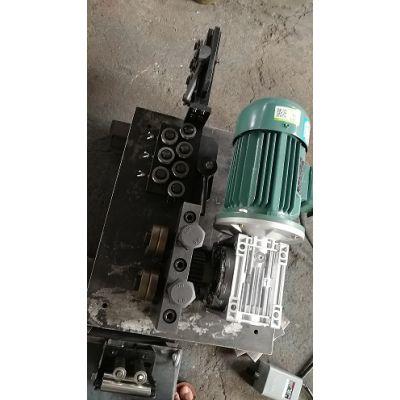 调直机牵引轮牵引铜管校直器 全自动调直机