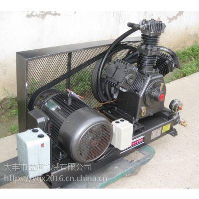 矿井测压用大型0.6/80空压机三级压缩