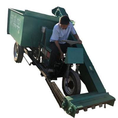 清粪车销售厂家 养殖设备刮粪车 牛羊场粪便清理机