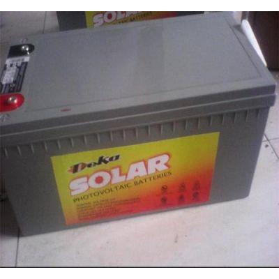 热销美国德克蓄电池8G5SHP 德克12V115AH 管式极板胶体蓄电池报价