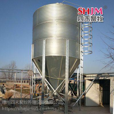 养殖设备 猪场自动料线 母猪料线 养殖塞盘料线镀锌料塔
