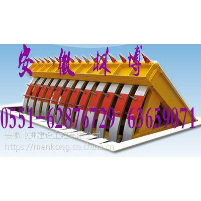 【那曲一键升降防恐路障机】博进西藏那曲武装部看守所路障机