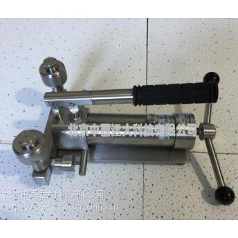中西压力表校验器0-60MPa 型号:XT10/TY-4010N 库号:M231607