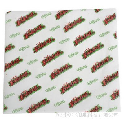 食品包装纸 防油纸  淋膜汉堡纸 半透明纸定制 厂家
