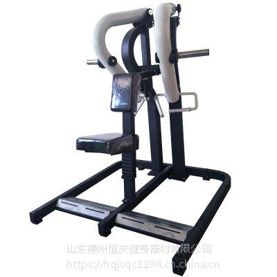 厂家热销大黄蜂坐式低拉背训练器圆动臂划船机健身器材健身房力量