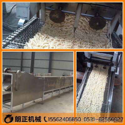 不锈钢材质方便面生产线油炸面食生产线全自动油炸锅休闲食品机械