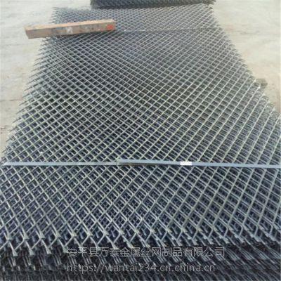 轮船平台钢板网 重型机械踩踏板 菱型拉伸网厂家