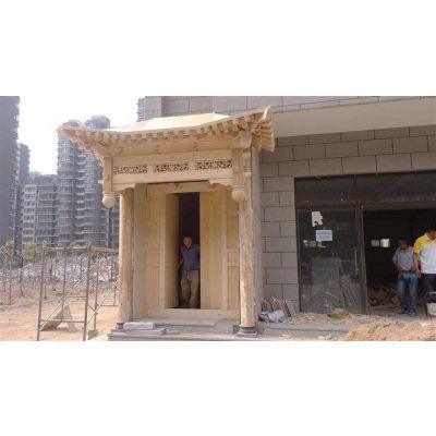 重庆涪陵牌匾、防腐木中式门头、景区导示、宣传栏、广告标识定制厂家