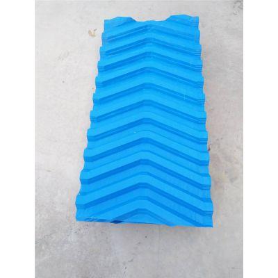 安徽冷却塔高效节水填料 PVC复合波淋水填料 爱兴厂家型号齐全