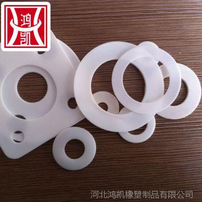 厂家定制聚四氟乙烯垫片 大垫片 单面四氟片成品 耐高温四氟垫片