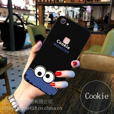 手机壳vivox6硅胶软壳防摔步步高x7手机保护套磨砂轻薄款全包边彩绘卡通