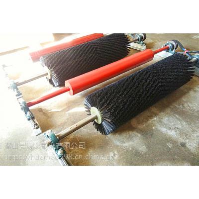 原美工业毛刷 洗靴机毛刷刷辊 煤矿洗靴机清扫器厂家