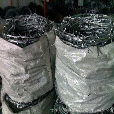 螺旋刀片刺绳 刺绳卡扣 1吨刺丝多少米