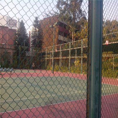 勾花护栏网 体育场围挡网 勾花围栏加工