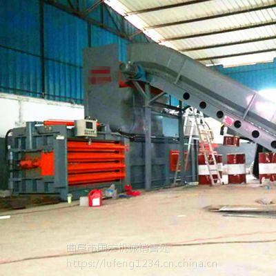 甘肃废品收购站专用液压打包机卧式打包机厂家