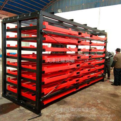 福建托盘式板材货架价格 重型货架用料 整捆钢板直接存取 方便安全