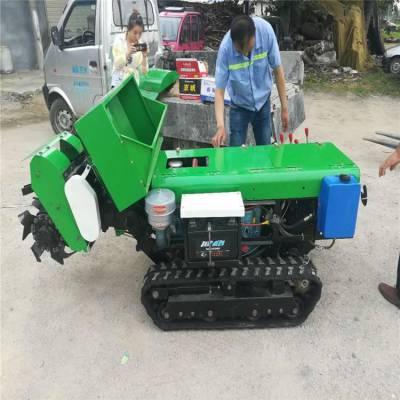 自动化耕地机 润丰 春耕地履带式开沟机 开沟施肥机