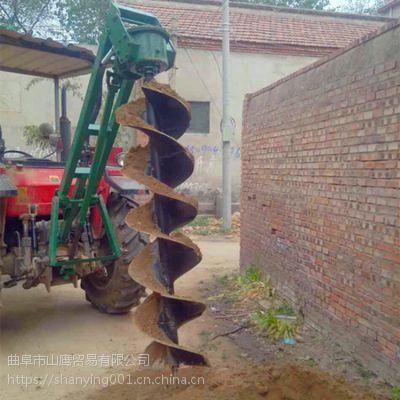 佛山林业机械栽树机大型打井机手提式挖坑机厂