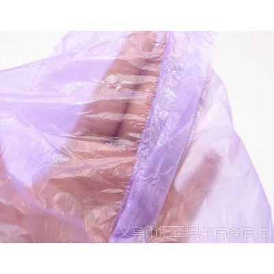 雨披 特大号一次性雨衣 透明塑料成人雨披 男女轻便旅游连帽雨衣