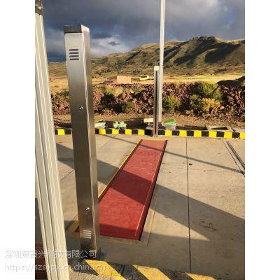 汽车衡器地磅用车辆分离器红外光栅车辆检测设备意普厂家