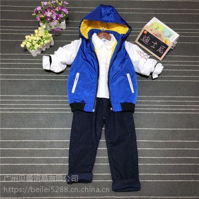 国际一线大牌迪士尼小龙系列—贝蕾服饰品牌折扣童装批发