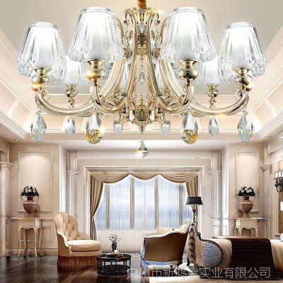 北欧简约现代创意美式吸顶灯Led客厅卧室灯酒店书房餐厅灯具批发
