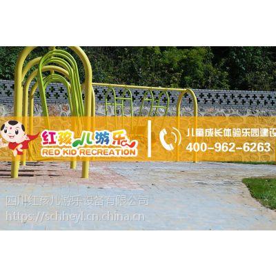 红孩儿游乐趣味无动力游乐设备大型秋千乐园设施厂家定制直销