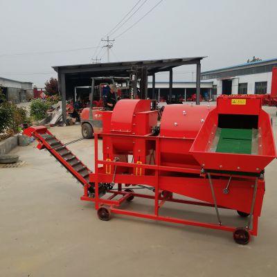 现货供应大型自动进料花生摘果机/干湿两用花生果秧分离机