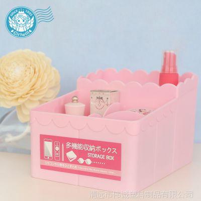 厂家直销定制图案 创意化妆盒首饰收纳盒促销礼品 多功能储物盒