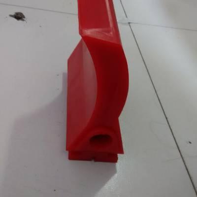 P型聚氨酯清扫器刀头 聚氨酯皮带清扫器? 低摩擦 高耐磨