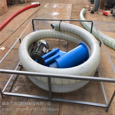 耐腐蚀防堵塞吸粮机 农用机械晒场收粮机 各种吨螺旋吸粮机