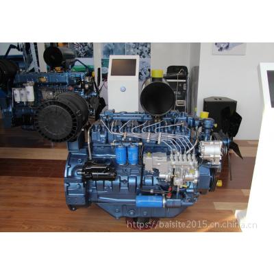 潍柴WP6D132E201发电型柴油机 100千瓦发电机组专用动力