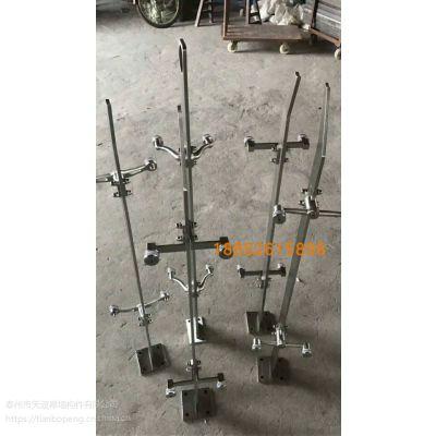 304直线式不锈钢工程立柱 户外桥梁栏杆立柱 户外工程护栏