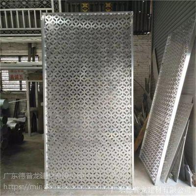 盘锦大商场装饰木纹雕刻铝单板