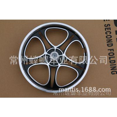 批发自行车16寸一体铝合金轮电动车16铝轮一体铝轮16寸铝合金轮毂